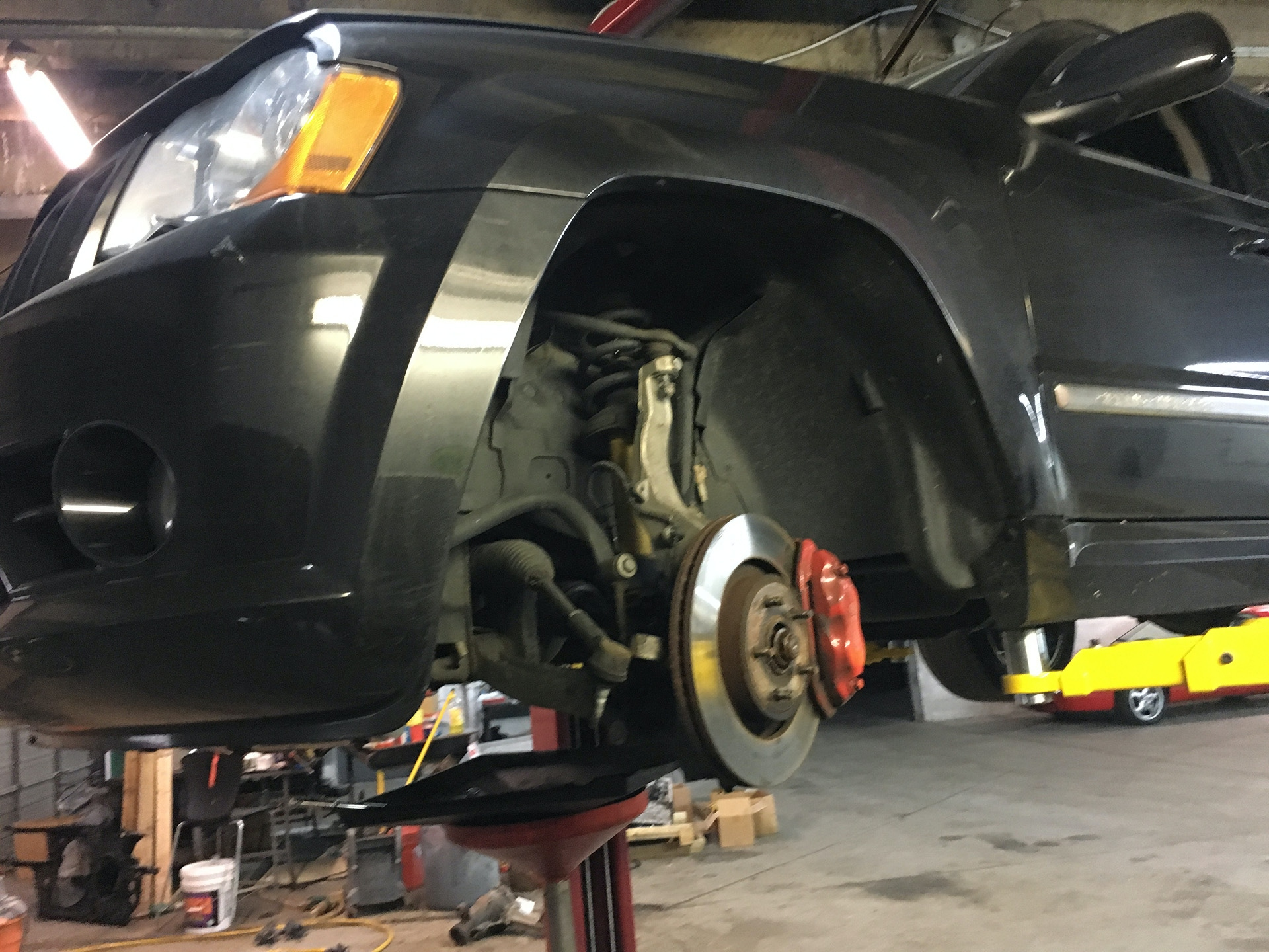 Jeep Grand Cherokee SRT8 front differential noise